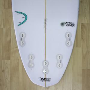 DaveySKY Surfboards Turbo Ripper diamond tail