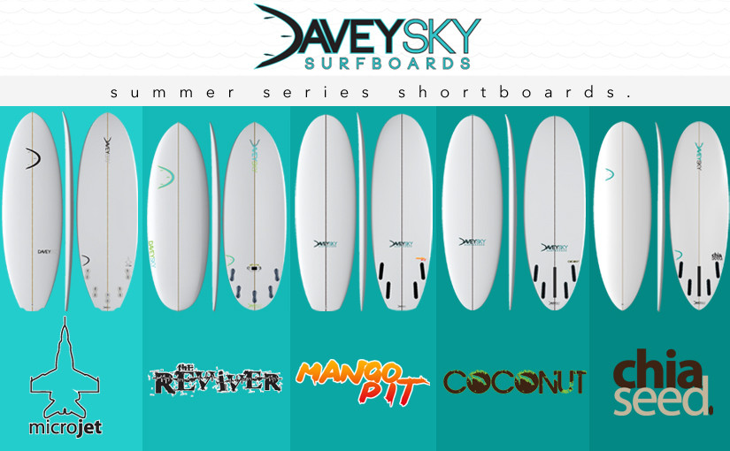 DaveySKY Surfboards Summer Shortboard Surfboards